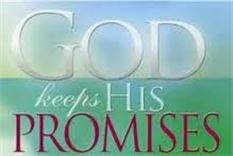 God keeps His promises--trusting in God