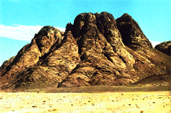 MOUNT SINAI-----GENESIS  MOSES MEET GOD
