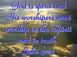 home-worship in the spirit  THE GOSPEL
