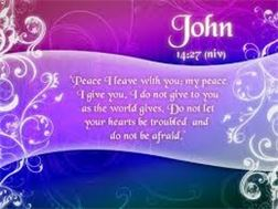 JESUS SAID MY PEACE i LEAVE WITH YOU------PICTURE GALLERY#2