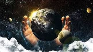 THE EARTH IS HIS FOOTSTOOL GENESIS MIGHTY WORD OF GOD